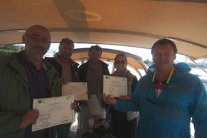 Haftanın sonunda Antalya'lılar IYT sertifikalarını  süphesiz hak ettiler